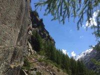 Sfidando la montagna