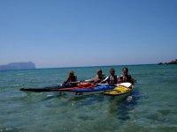 Gite in kayak