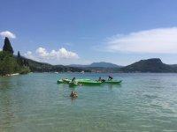 Pagaiando sul Lago di Garda