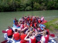Rafting tutti insieme!