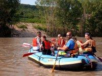 Mettetevi alla prova con il rafting