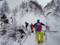 Escursione sulla neve