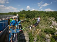 Location di salti bungee jumping