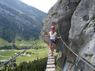 Scuola di Alpinismo e Sci Alpinismo Val di Sole Via Ferrata