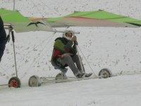 Si vola anche con la neve
