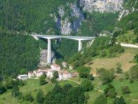 Ponte Valgadena e zona di lancio