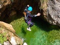 canyoning in veneto