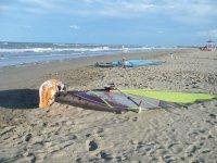Attimi di riposo in spiaggia