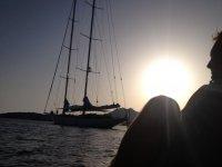 a gita in barca