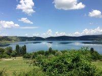 La vista sul lago