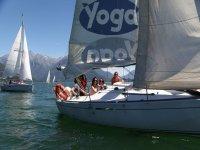 veleggiare nel lago