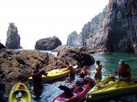 kayaking nel cilento