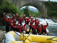 rafting in campania sul fiume tanagro