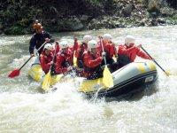 rafting in campania a pochi km da napoli