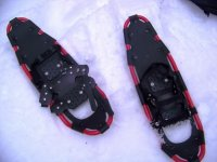 trekking with snowshoes in campania