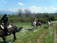 excursion on horseback salerno