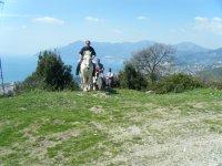 trekking on horseback campania