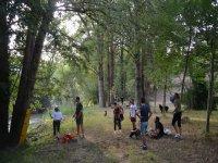 tree climbing park in campania