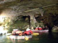 speleoraft in the caves of pertosa