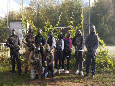 Match of Paintball in L'Aquila