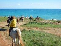 Baia delle orte a cavallo
