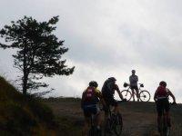 Avventura in mountainbike