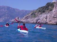 excursion in Amalfi coast kayak