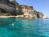 snorkeling to capo vatican