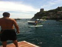 windsurf school in praiano