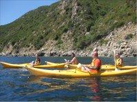 gita in kayak in gruppo