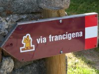 Via Francigena  cartello