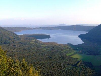Giornata a cavallo Lago Vico e Monte Cimino