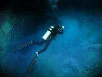 immersi nell azzurro mare