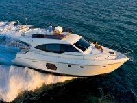 On board in a yacht