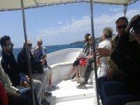 in gruppo sulle nostre barche