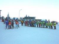 Iscriverti a un corso di sci