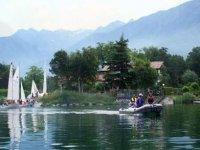 Riposo sul lago di Como