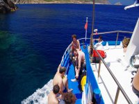 aboard the nostra barca