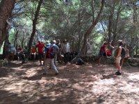pause during i trekking