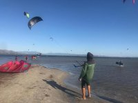 Un'ora di lezione teorica di kitesurf in Liguria