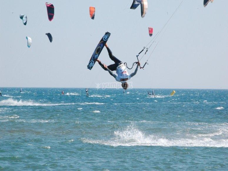 Kite reverse