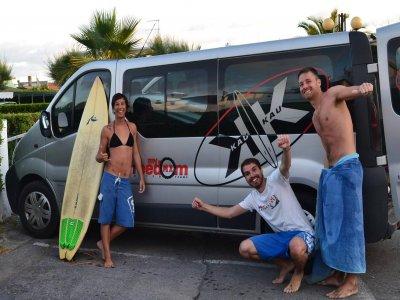 Lezione teorica (1h) di surf a La Spezia