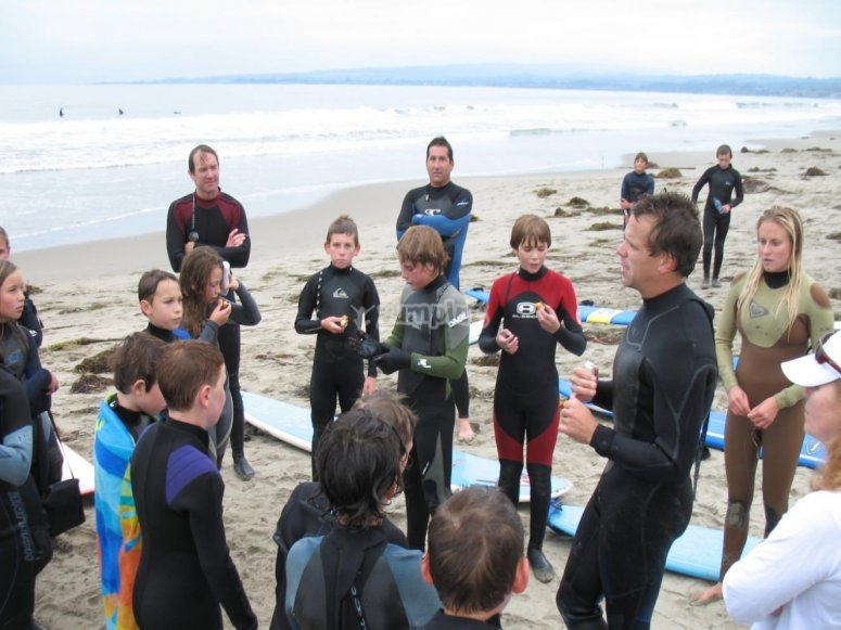 surf pour les enfants