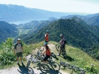 Mountainbike tra amici