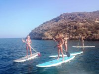 Paddle surf tra amici