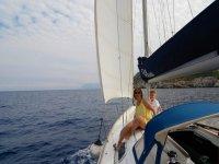 In barca a vela a Palermo