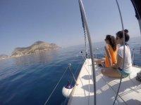 Mondello boat tour