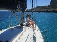 A bordo della nostra barca a vela