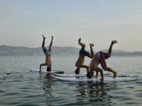 divertendosi sul paddle