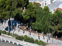 A Cagliari  in segway
